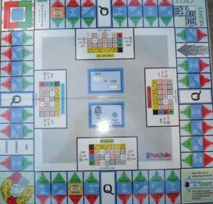 Portfolio game board